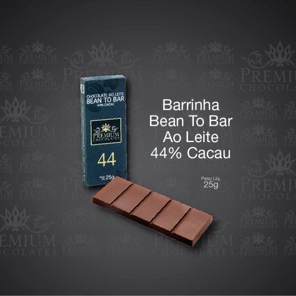 Barrinha Bean To Bar Ao Leite 44% Cacau
