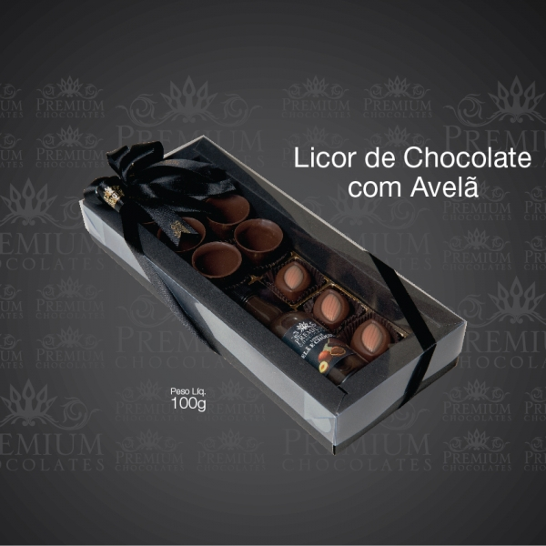 Licor de Chocolate com Avelã
