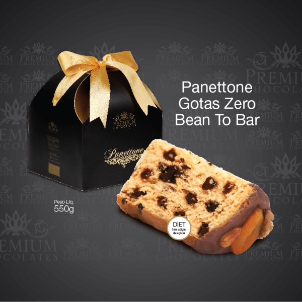Panettone Gotas Zero Bean To Bar